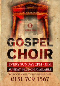 Gospel Sunday Brunch Offer