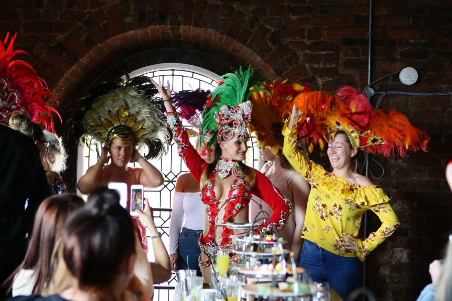 Samba Afternoon Tea - bucket list